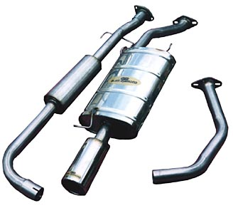 Toyota Prado 90 Series Turbo Diesel Exhaust